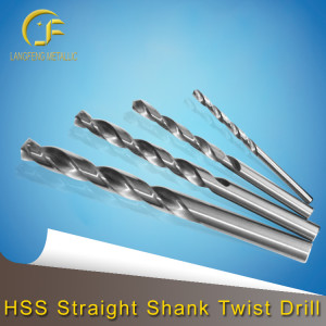 HSS Straight Shank Twist Drill 3